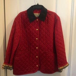 NWOT BURBERRY DRANEFIELD DIAMOND QUILTED JACKET